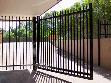 key latch entry gate